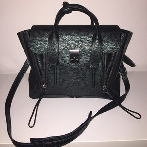 3.1 Phillip Lim Handbags - 3.1 Philip Lim Pashli Medium Satchel Bag, Ivy