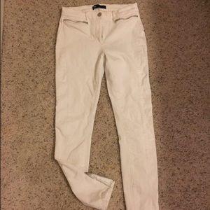 3x1 Denim - 3x1 white denim pants with zippers