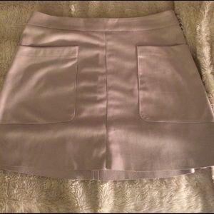 Glamorise Dresses & Skirts - Tan Glamorous suede skirt