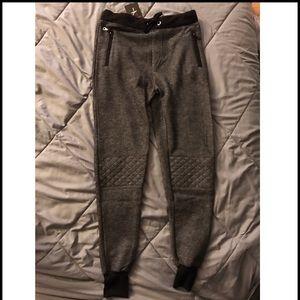 Pants - Fleece-lined heather Grey joggers/sweatpants