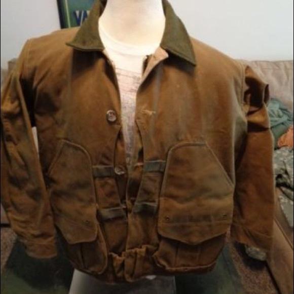 5aa24a48f FILSON TIN CLOTH FIELD COAT #633 XL WITH HOOD