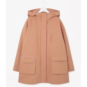 COS Jackets & Blazers - cos // grosgrain detail parka