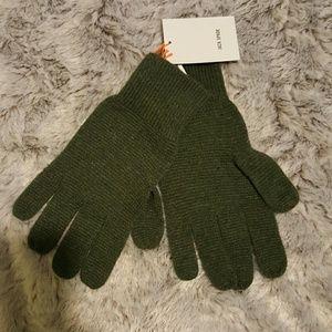Jack Spade Other - Jack Spade Green Gloves