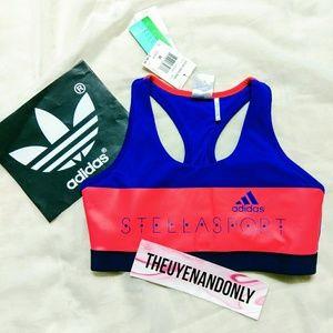 Adidas by Stella McCartney Tops - NWT Adidas Stella Sport w Paddings BoBlue $45 Orig