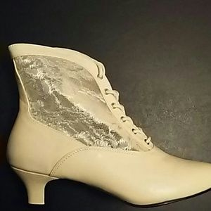 Funtasma Shoes - BRAND NEW Victorian Lace Booties