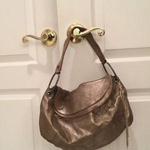 Juicy soft muted gold handbag juicy brand euc