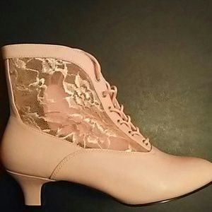 Funtasma Shoes - Victorian Lace Booties