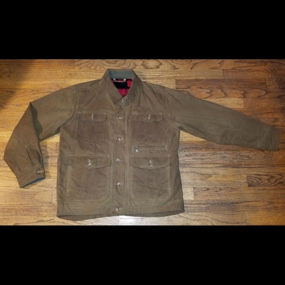 052d0ef0e Tin Cloth Fleece Lined Packer Coat Jacket
