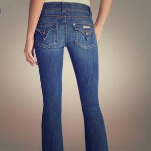 Hudson Midrise Bootcut Jeans