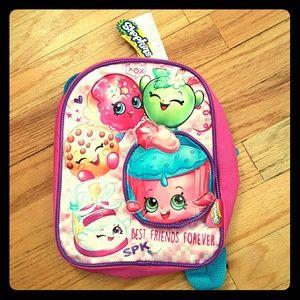 Shopkins Other - Mini Shopkins backpack, NWT