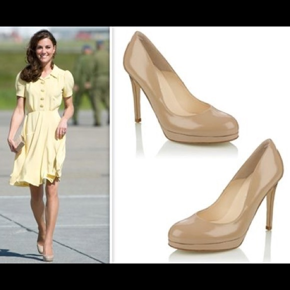 8d4f61fdcc8 LK Bennett Shoes - Lk Bennett sledge nude pumps