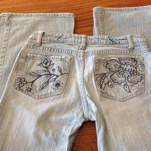 Aeropostale Denim - Aeropostale stretch flare stonewash jeans sz 1/2 R