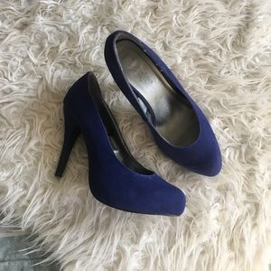 Forever 21 Shoes - Forever21 Blue Stiletto Pumps