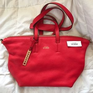 Kate Spade - Saturday - RED Freeform Satchel Purse
