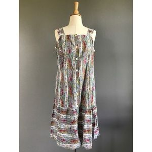 Vintage Dresses & Skirts - Italian vintage button down sun dress