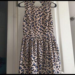 Bec & Bridge Dresses & Skirts - Bec & Bridge Open Back Leopard Print Dress NWT