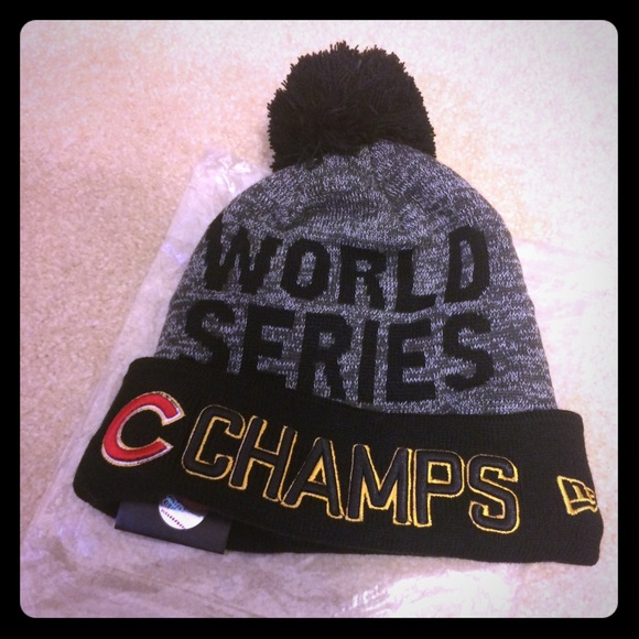 cc91aa921865f Chicago Cubs World Series Hat
