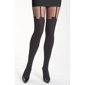 House of Holland Accessories - House of Holland Pretty Super Suspender tights