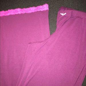 VS VICTORIA'S Secret Pajama Lounge Pants Sz S