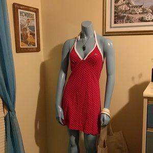 Vintage Lacoste Pink Halter Dress