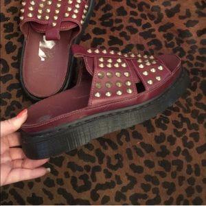 Dr. Martens Shoes - Dr. Martens Rare Skye Studded Sandal