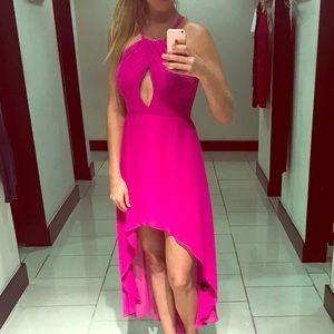 bebe Dresses & Skirts - {Bebe} hot pink maxi dress