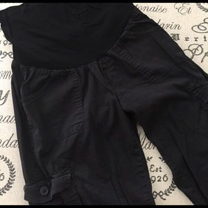 Motherhood Maternity Pants - Maternity convertible pants size medium