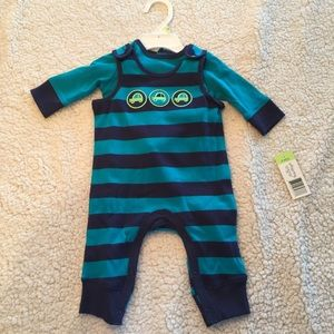 Offspring Other - Offspring Navy Stripe 2-Piece Boys' Set