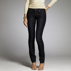J. Crew Toothpick jeans 26R stretch
