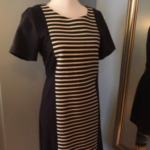 J. Crew Dresses & Skirts - J Crew Striped Colorblock Dress