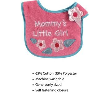 Luvable Friends  Other - Mommys girl bib NWT 👶👶