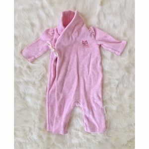 Ralph Lauren Other - Ralph Lauren Baby Girl Wrap Front Coverall