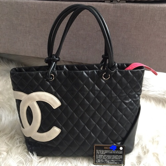 503b40a0fd9a CHANEL Bags | Cambon Large Tote | Poshmark