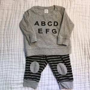 Nordstrom Baby Other - Nordstrom Baby ABCDEFG Two Piece