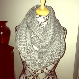 bp Accessories - Gray infinity scarf