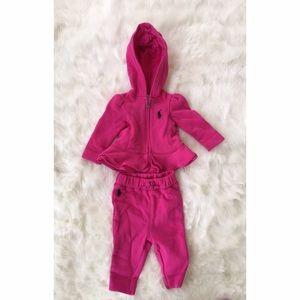 Ralph Lauren Other - Ralph Lauren Baby Girl Sweatsuit