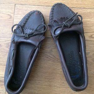 Minnetonka Shoes - Minnetonka moosehide kilty moccasin