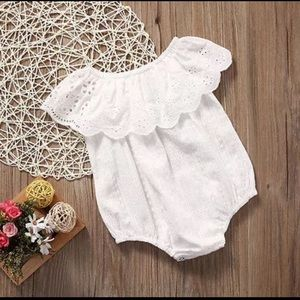 Other - White Baby Romper
