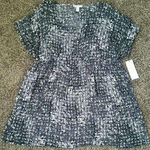 Liz Lange for Target Tops - Liz Lange Maternity NWT black short sleeved top