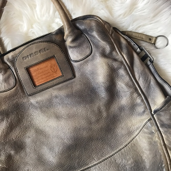 172d6432650e Diesel Handbags - Distressed Leather Diesel bag