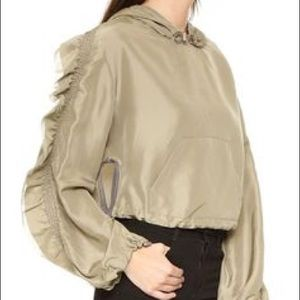 3.1 Phillip Lim Jackets & Blazers - Phillip Lim Hooded Embellished Anorak Jacket