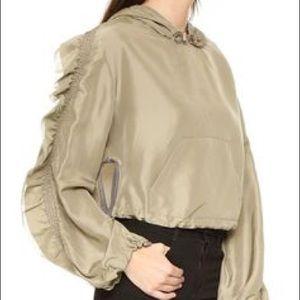 3.1 Phillip Lim Jackets & Blazers - Phillip Lim Hooded Embellished Anorak Jacket