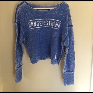 Original Retro Brand Tops - Super soft cropped NYR sweatshirt by Retro brand