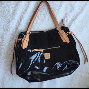 Dooney & Bourke Venus Patent Nina Bag