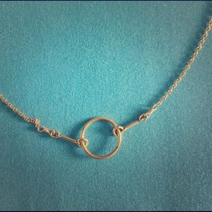Dogeared Gold Karma Necklace