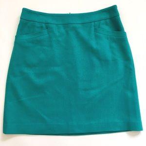 Ann Taylor Dresses & Skirts - Ann Taylor teal wool blend skirt