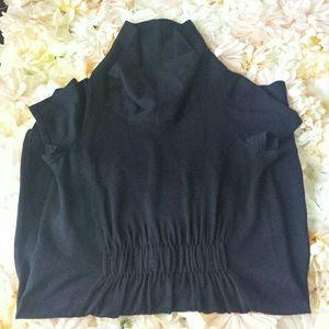 Club monaco merino wool cowl neck dress