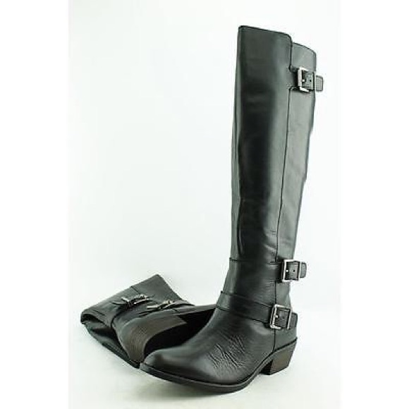 Dolce Vita Shoes - DOLCE VITA LEATHER KNEE HIGH MOTO BOOTS SZ 6.5