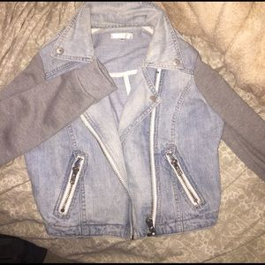 Super cute LF denim cropped jacket
