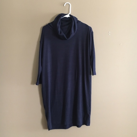 GAP - Gap Navy Blue Cowl Neck Sweater Dress from !🌟jessica's ...